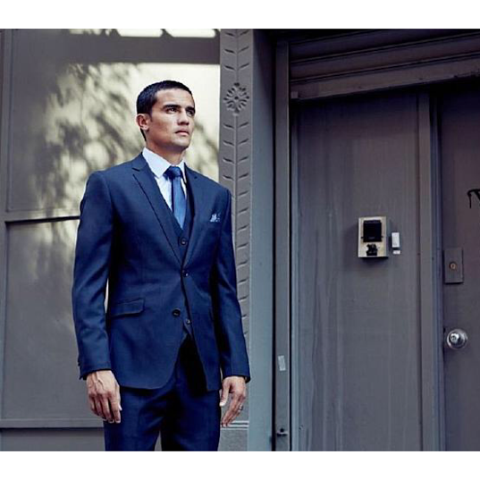 Soccer star Tim Cahill Prepares For Men's Fashion Business Opportunities With Shoreditch London
