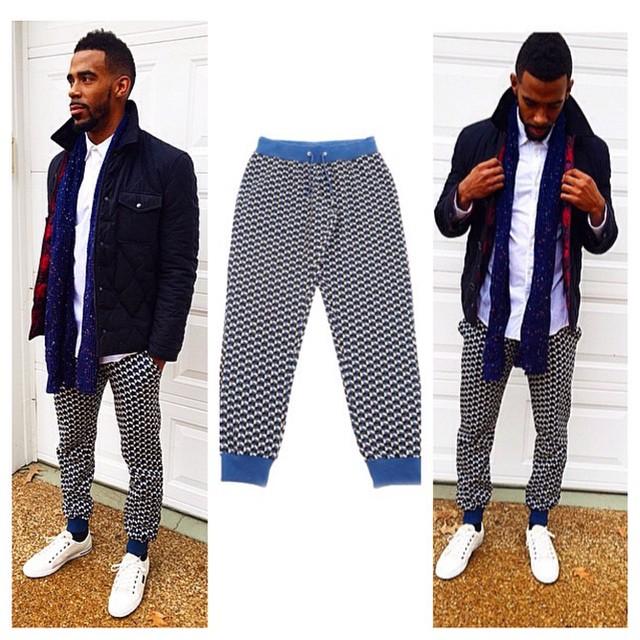 Mike-conley-jr-bold-print-pants-jogger