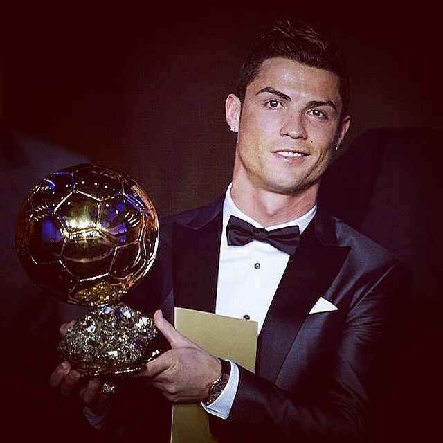 Cristiano Ronaldo's Big Night At The 2014 Ballon D'Or Ceremony