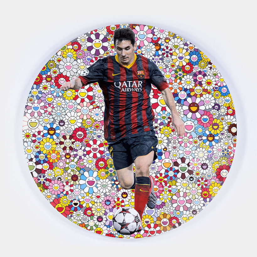 Lionel Messi Portraits Created For UNICEF's Charity Auction at Sotheby's