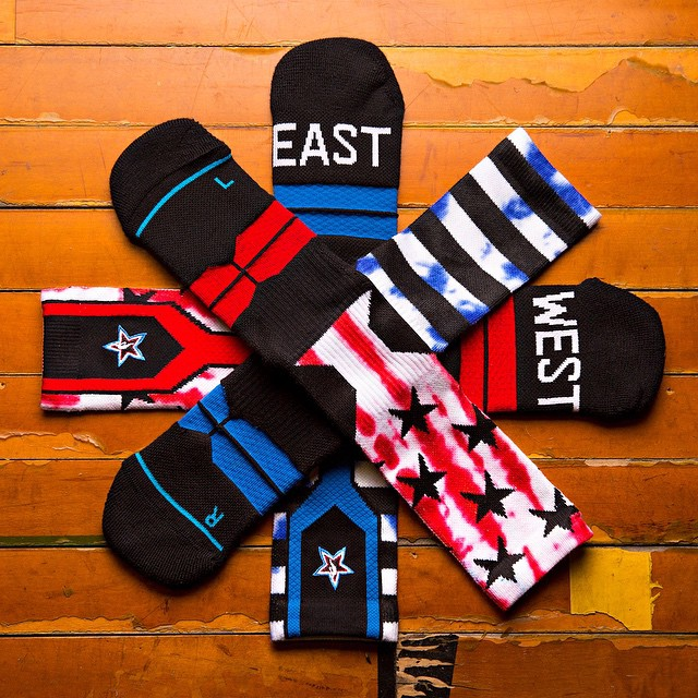 NBA Players Will Wear Special Stance Socks For The 2015 All-Star Game