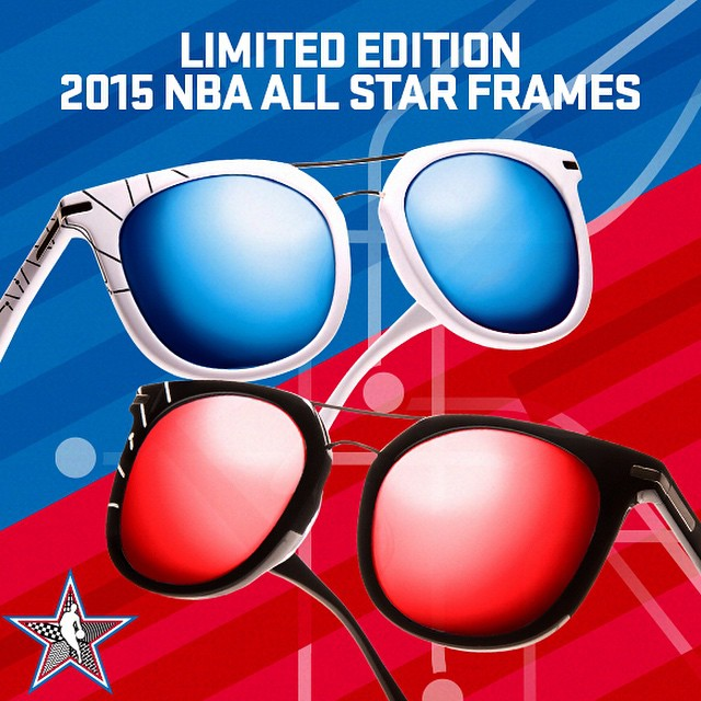 Westbrook Frames Teams Up With NBA To Launch Limited Edition 2015 NBA All Star Sunglasses Collection