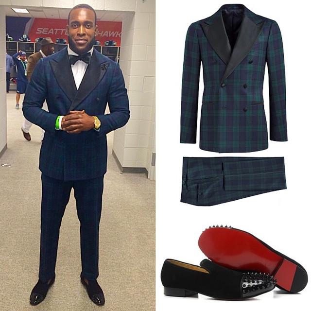 Kam-chancellor-seahawks-super-bowl-suit-supply-louboutin-shoes