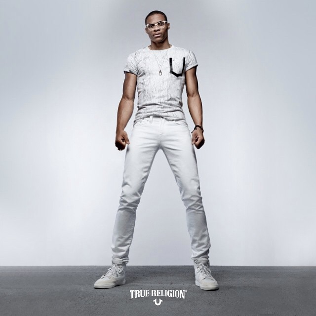 VIDEO: NBA star Russell Westbrook Flexes Ripped Physique In New True Religion Commercial