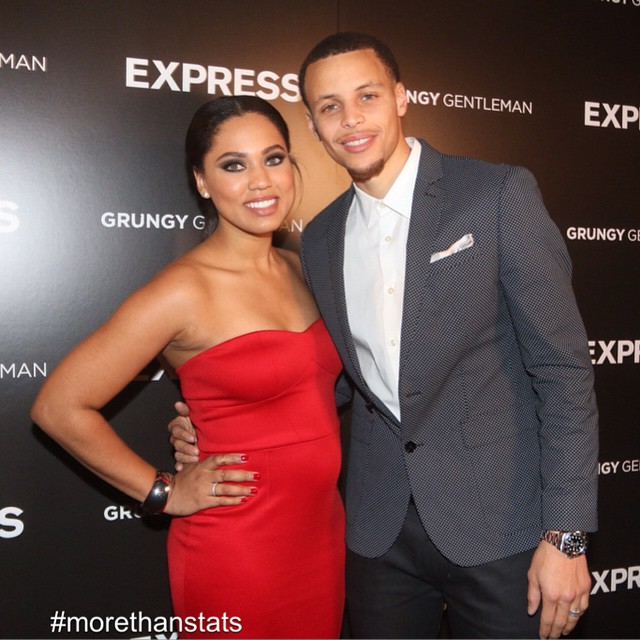 Express Celebrates Brand Ambassador Stephen Curry For NBA All-Star Weekend