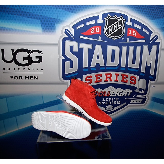 UGG Debuts New Treadlite Technology Footwear At NHL Coors Light Stadium Series