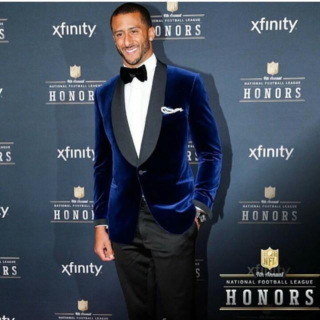 2015 Nfl Honors Fashion Odell Beckham Jr Colin Kaepernick Jamaal Charles Amp More