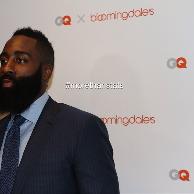 NBA All Star James Harden Hosts Bloomingdale's NBA Collection Pop-Up Event