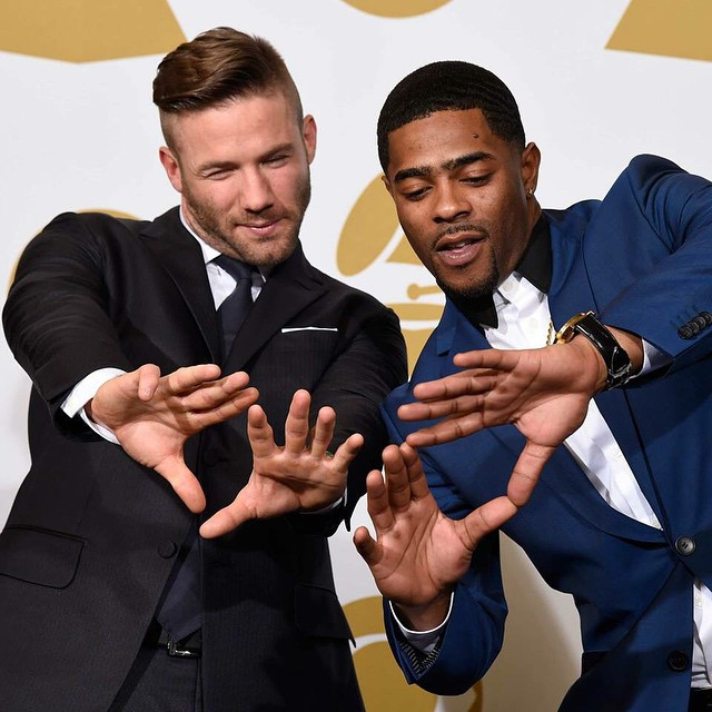 New England Patriots Malcolm Butler's  'Interception' At The 2015 Grammys