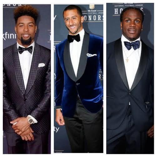 2015 NFL Honors Fashion: Odell Beckham Jr, Colin Kaepernick, Jamaal Charles, & More