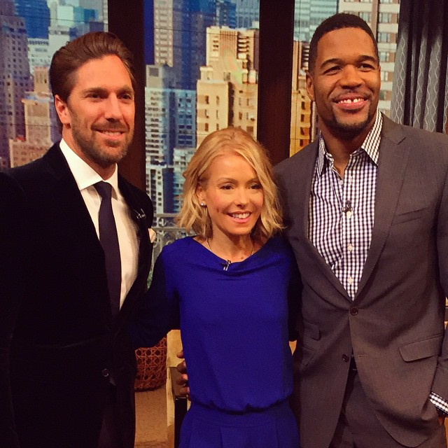 """Fashion Icon, I Hate That Word:"" NHL Star Henrik Lundqvist Visits Live With Kelly And Michael"
