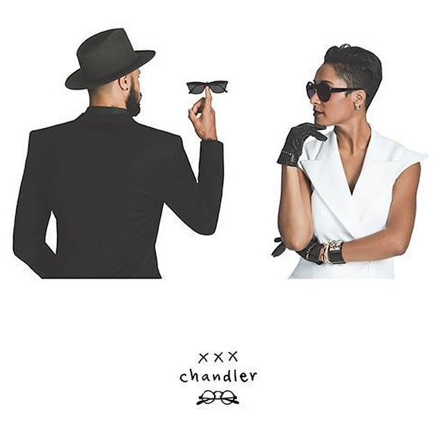STYLE: NBA Tyson Chandler And Wife Design Sunglasses Collection With Selima Optique
