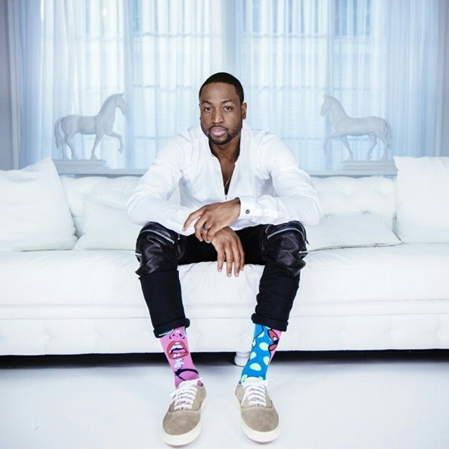 Dwyane Wade Debuts His Latest Collabs With Stance Socks & Li-Ning Footwear