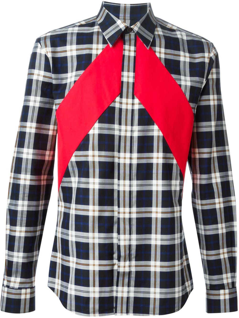 givenchy-banded-plaid-shirt-1