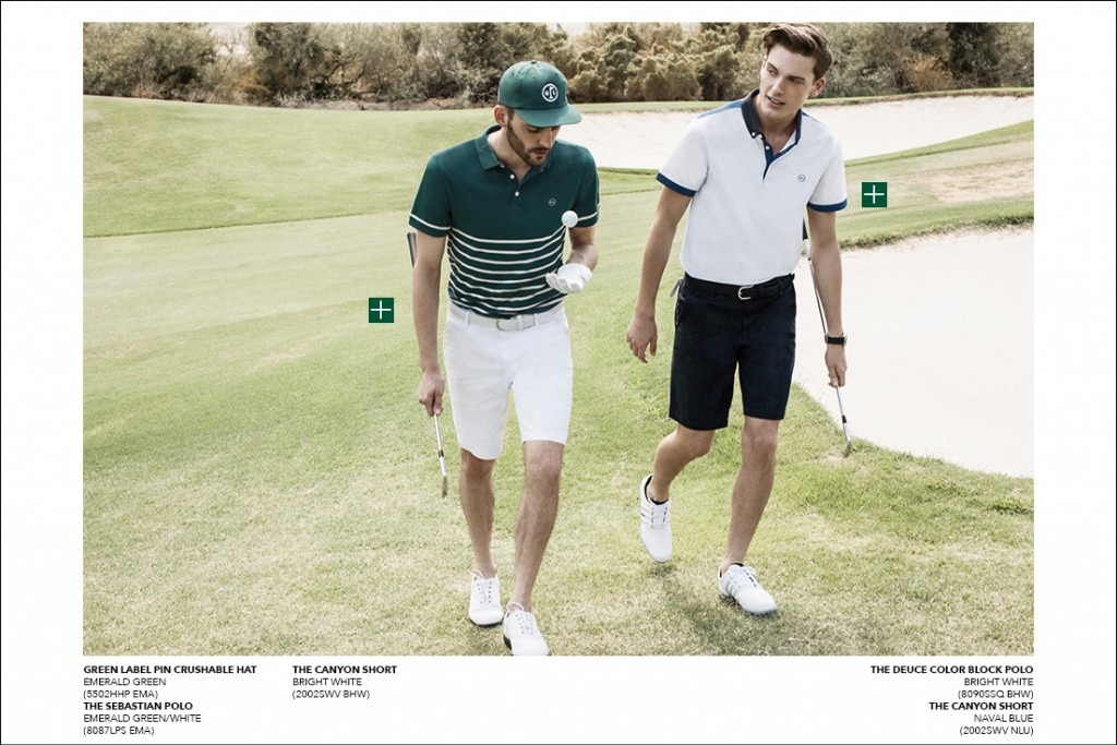 "AG Launches ""AG GREEN LABEL"" Men's Golf Brand For Spring 2015"