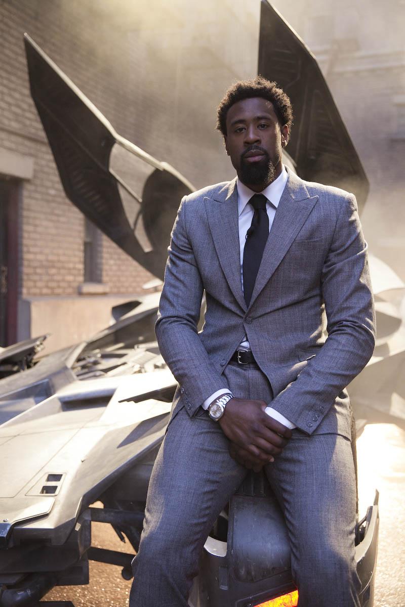 VIDEO: NBA Deandre Jordan Gets Exclusive Look At New Batmobile
