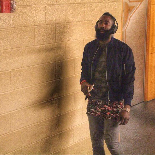 James-Harden-Givenchy-camo-top-floral-panel-instagram