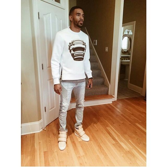 Mike-conley-jr-neil-barrett-balmain-jeans-guiseppe-jeans-1