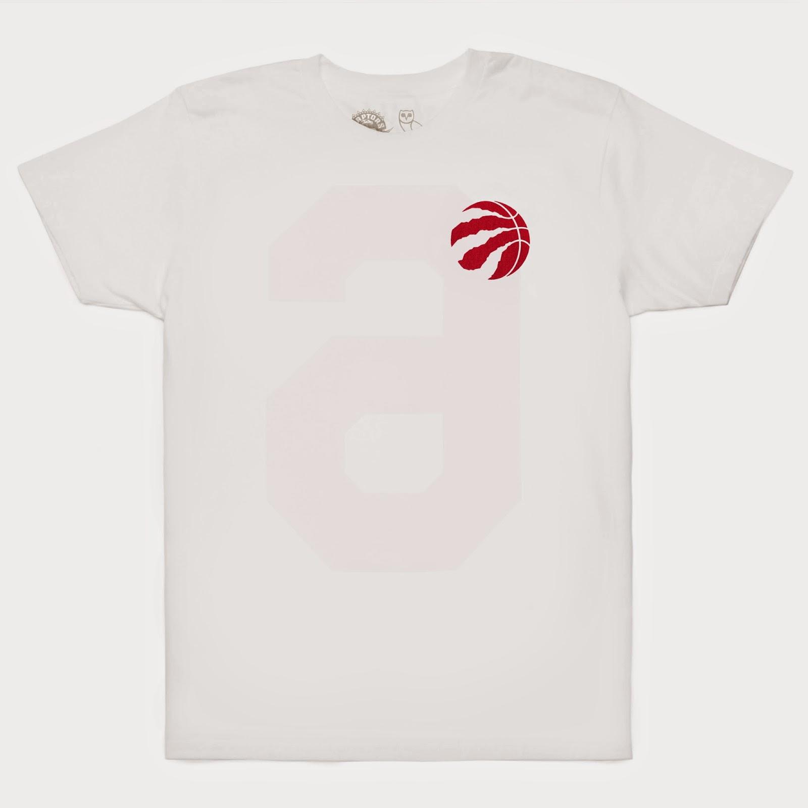 a969a9454 Toronto Raptors Introduce OVO 2015 NBA Playoff Edition TEE