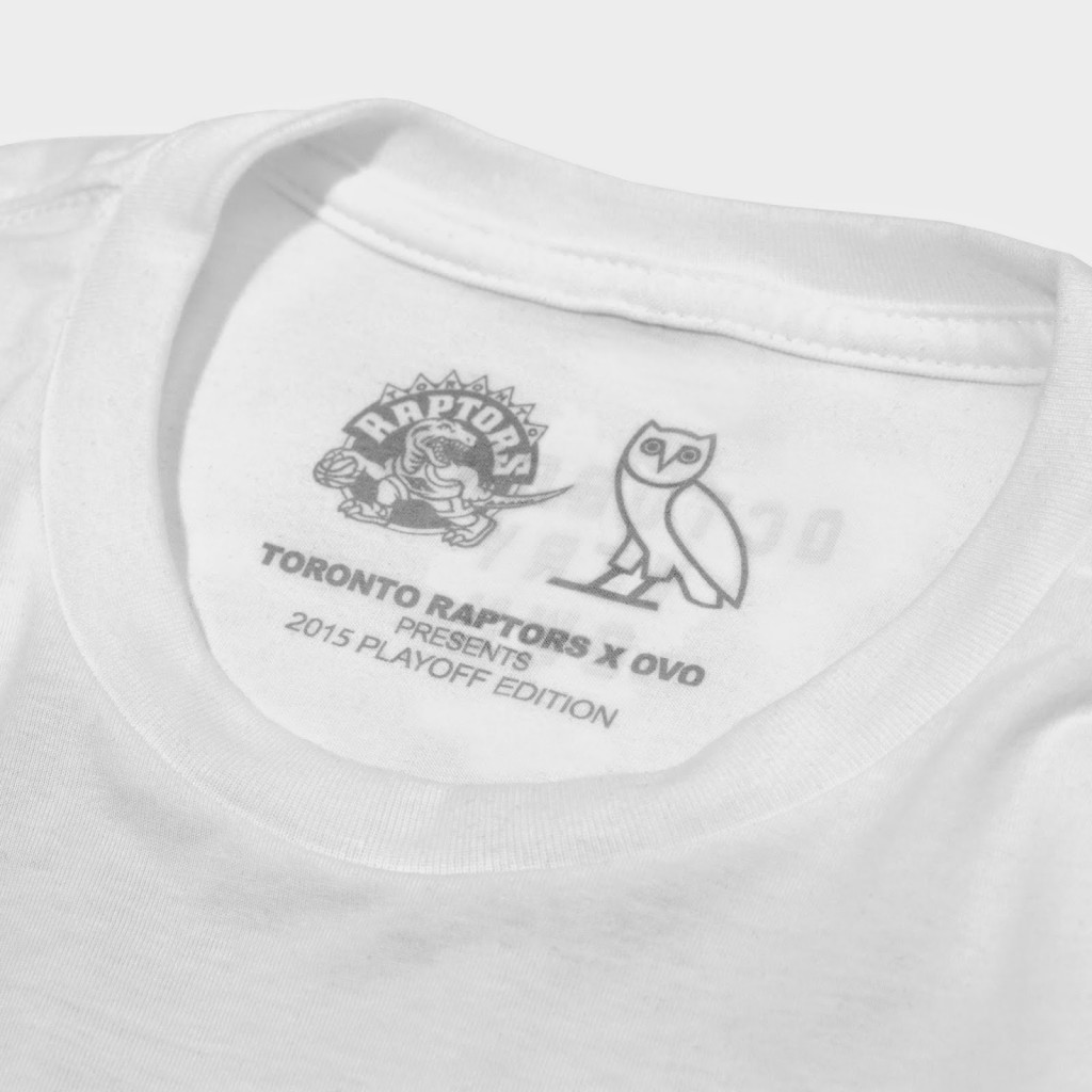 Toronto Raptors Introduce OVO 2015 NBA Playoff Edition TEE