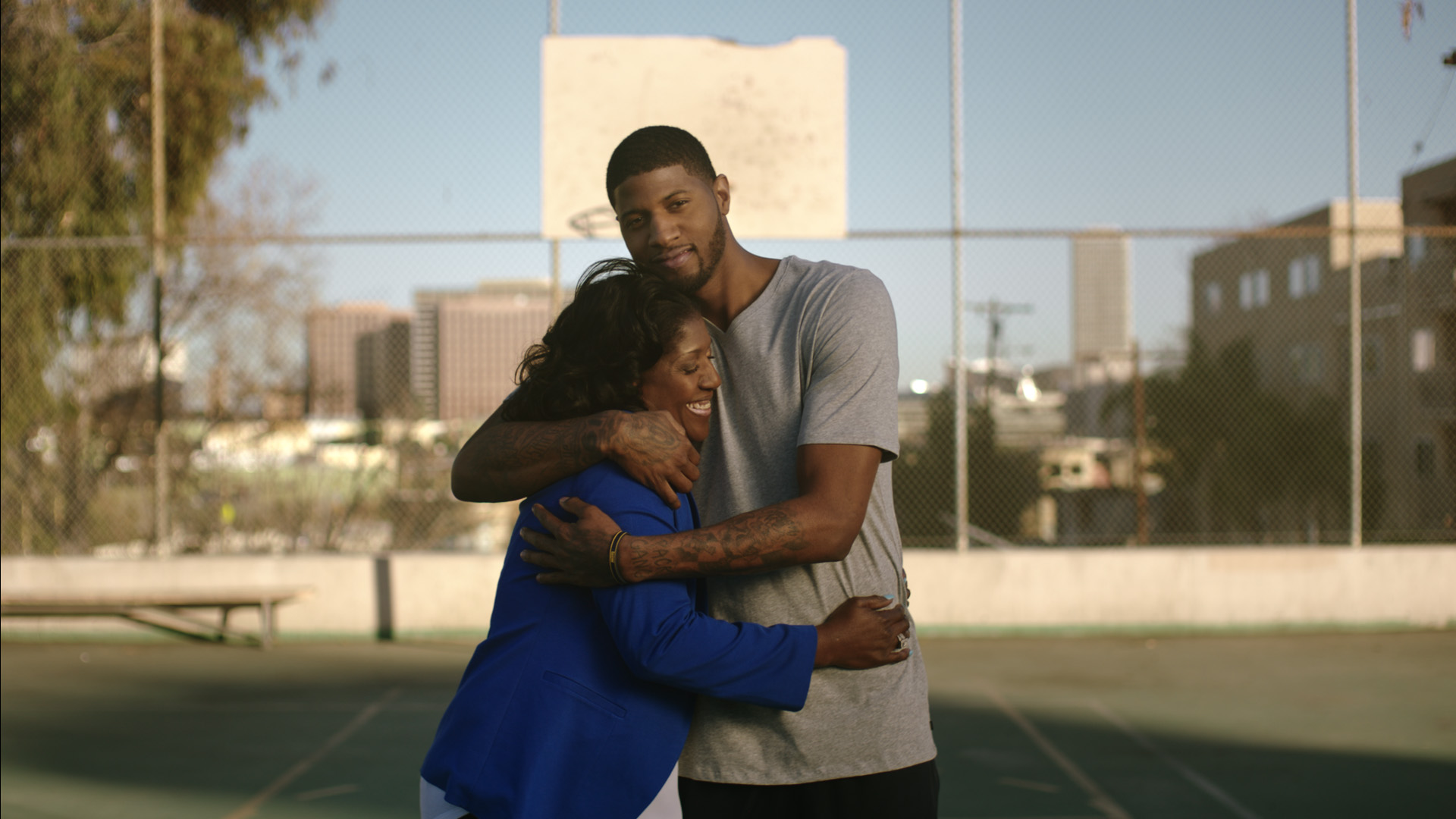 NBA Paul George Teams Up With The American Stroke Association