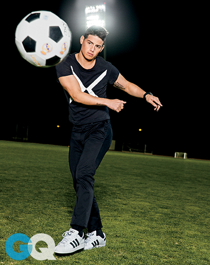 Soccer Star James Rodriguez For GQ Magazine May 2015
