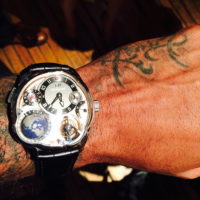 STYLE: NBA star Carmelo Anthony Wears A $565,000 Watch