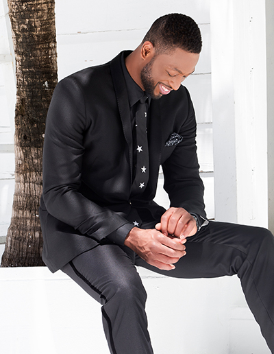 NBA Star Dwyane Wade Debuts Summer Accessories Collection With The Tie Bar