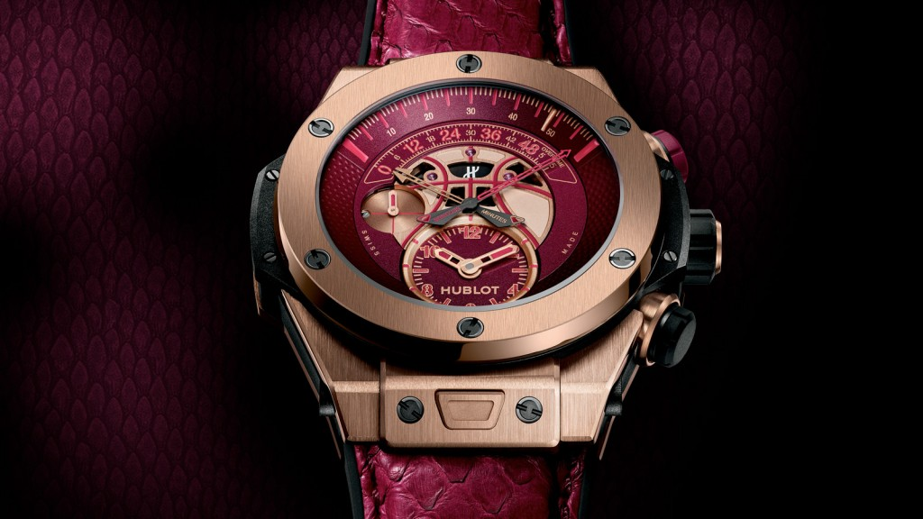 Hublot Unveils Kobe Bryant Big Bang 'Vino' Watch