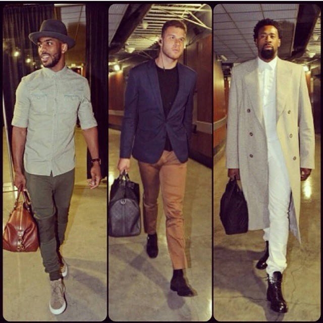 2015 NBA Playoffs Fashion: Chris Paul, Blake Griffin, Deandre Jordan And More