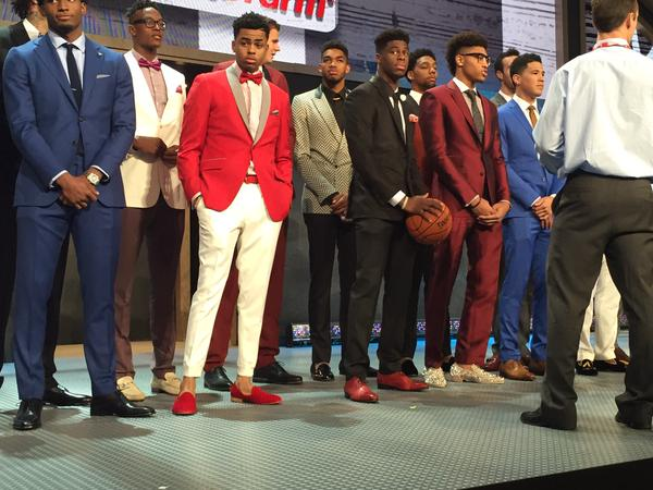 STYLE: BEST AND WORST FROM THE 2015 NBA DRAFT