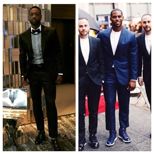 STYLE: Dwyane Wade And Victor Cruz Attend 2015 CFDA Awards