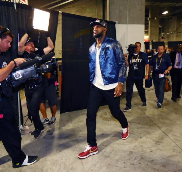 "Lebron James After 2015 NBA Finals Game 5: ""I'm The Best Player In The World"""