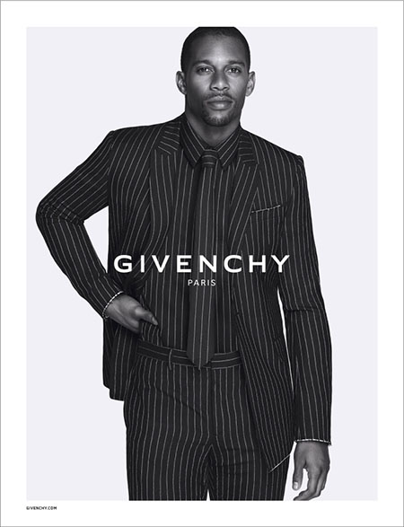 NFL Victor Cruz Is The New Face Of Givenchy Fall/Winter 2015