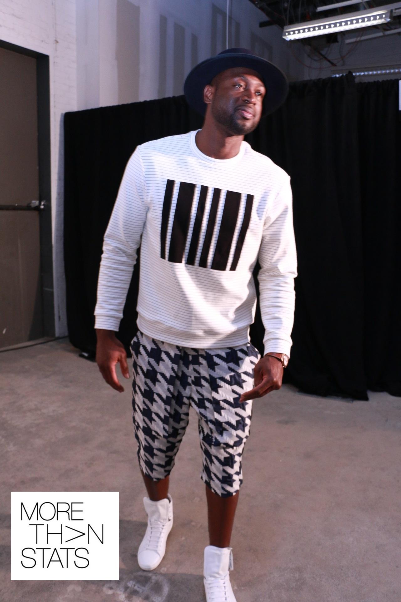 Men's Fashion Week NY: Dwyane Wade, Andre Iguodala, Victor Cruz And More