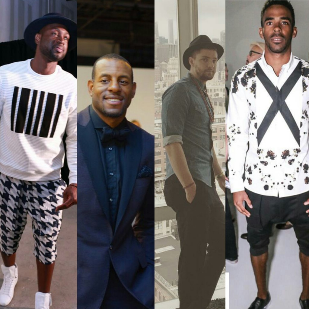 EXCLUSIVE: NBA Dwyane Wade, Andre Iguodala, & Others Talk Style At First-Ever New York Fashion Week:Men's