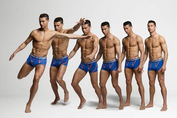 Cristiano Ronaldo Models His CR7 F/W 2015 Underwear Collection
