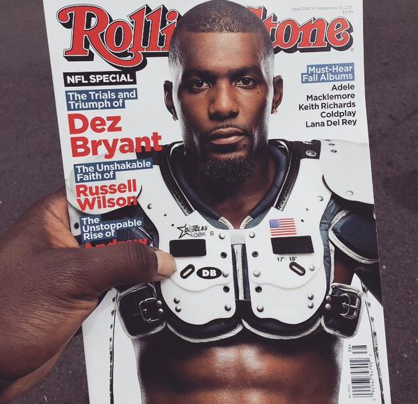 Dez Bryant To Cover Rolling Stone Magazine