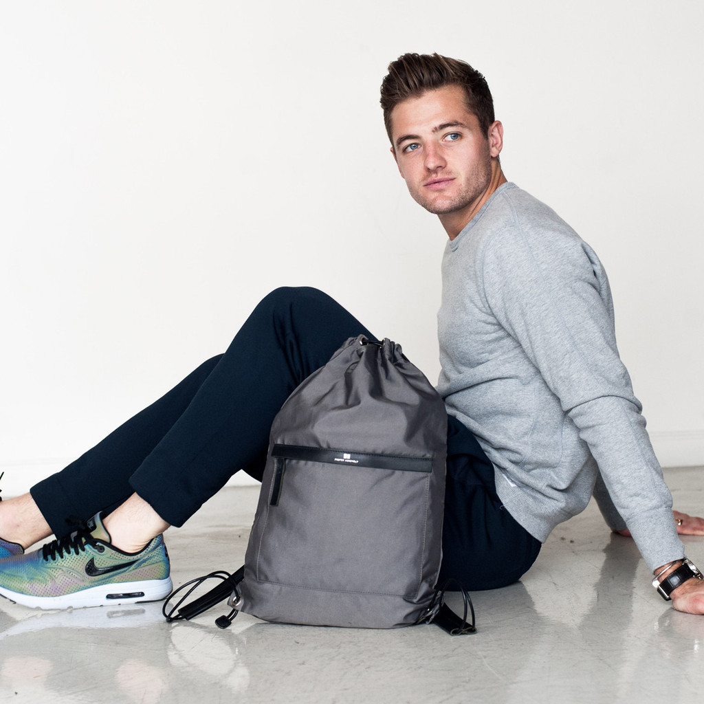 L.A. Galaxy Robbie Rogers Debuts Proper Assembly Sports Bag