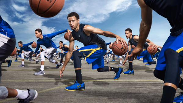 Under Armour Rolls Out Major Marketing Campaign Featuring NBA Champ Steph Curry