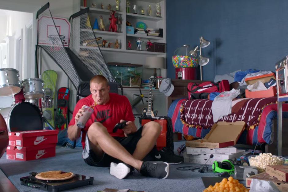 c376b691e7 Rob Gronkowski Stars In Kids Foot Locker Campaign