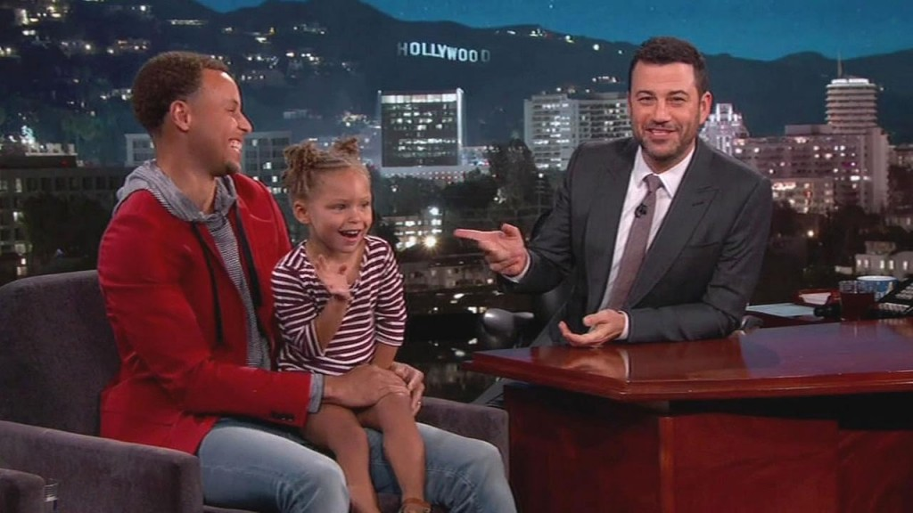 VIDEO: Stephen Curry Visits Jimmy Kimmel Live, Talks Playing Golf With President Obama