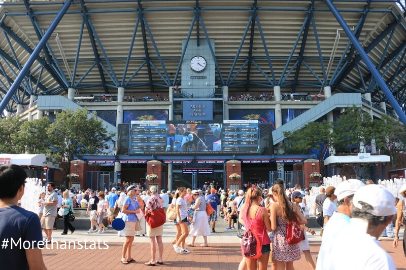 Day 2 Of The 2015 US Open With Citizen Watch Company