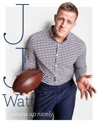 NFL JJ Watt Named Mizzen+Main Brand Ambassador