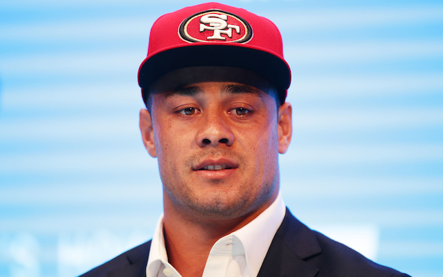 Under Armour Signs 49ers Jarryd Hayne