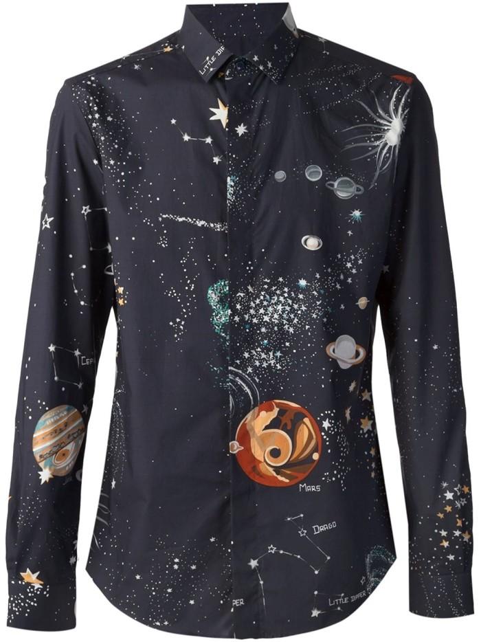 Valentino-Cosmo-Planet-Print-Shirt-