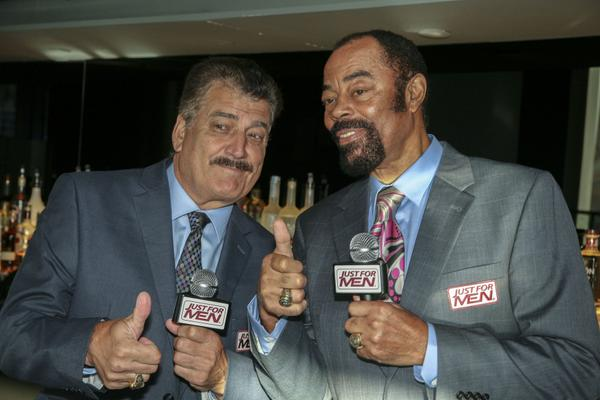 Sports Icons Walt Clyde Frazier And Keith Hernandez Help Just For Men Find America's Best Beard