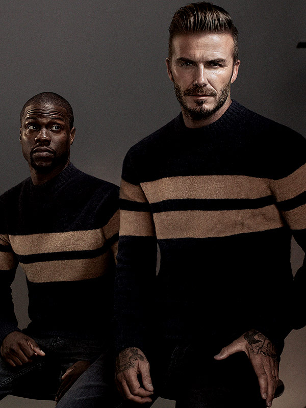 Watch David Beckham And Kevin Hart's Stylish H&M Comedy