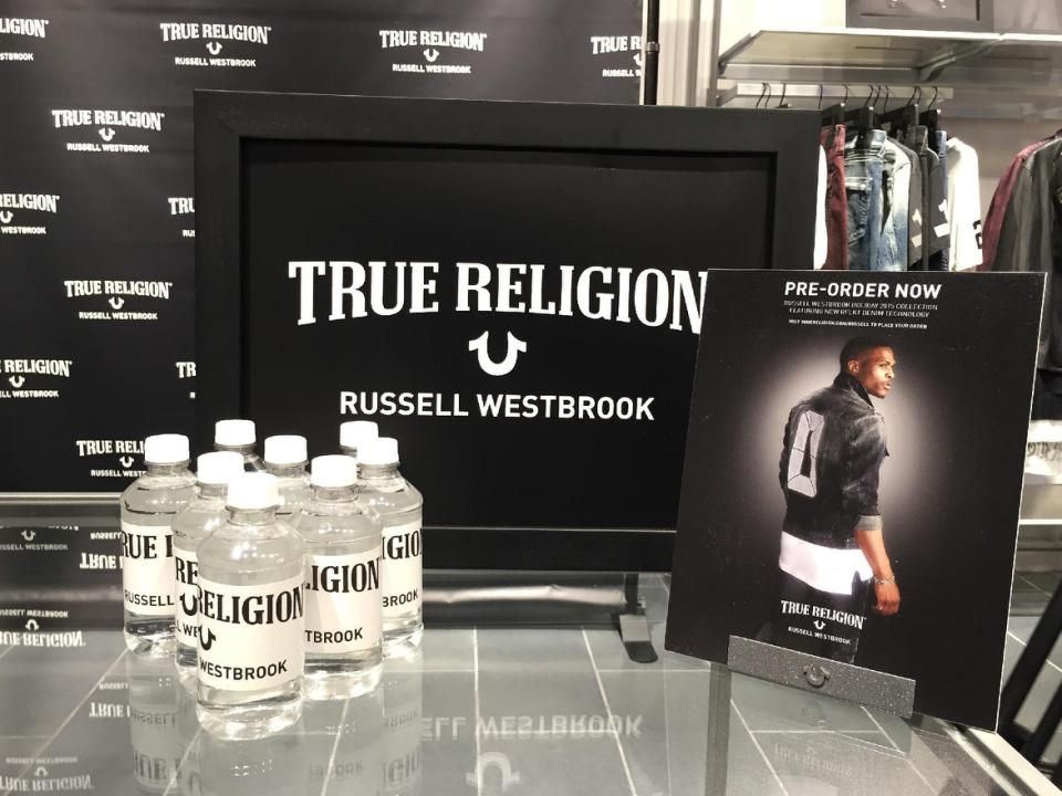 Russell Westbrook Unveils True Religion Holiday 2015 Collection At New York Fashion Week