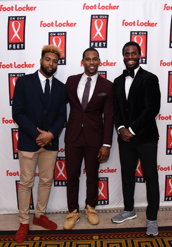 "Foot Locker Hosts ""On Our Feet"" Gala, Features Star Athletes"